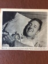 L1a Ephemera Ww2 1944 Picture Frank Morcombe Vancouver Wounded