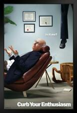 Curb Your Enthusiasm TV Show Framed Poster 12x18