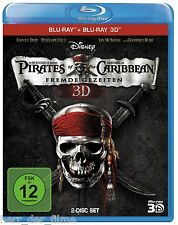 PIRATES OF THE CARIBBEAN: FREMDE GEZEITEN (Johnny Depp) Blu-ray 3D + Blu-ray