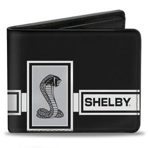 Wallet - Shelby GT500 Mustang Cobra Snake - Box Stripe - FREE USA SHIPPING!