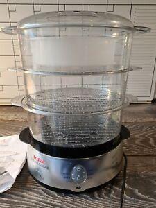tefal steam cuisine 3 tier steamer model serie502