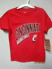 Rivalry Threads Youth Boys Cincinnati Bearcats Red T-Shirt Size XS (4/5)