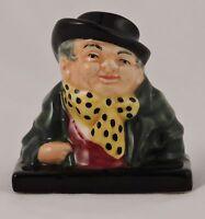"Royal Doulton Tony Weller Character Bust Dickens 2.5"" Rare"