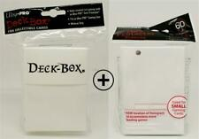 Ultra Pro Deck Box + 60 Deck Protector Sleeves - weiß