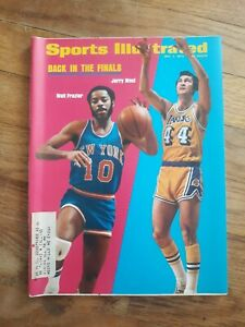Sports Illustrated May 7 1973 Walt Frazier Knicks Jerry West Lakers