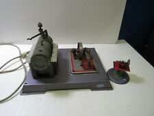 Wilesco Steam Engine 110V Operating Model with Toy Grinder Model # 52