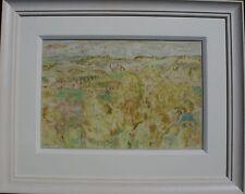 SIR WILLIAM GILLIES CRICHTON CASTLE SCOTTISH LANDSCAPE PAINTING ART 1898-1971