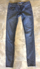 #469 Free People Womens Skinny Bue Jeans Size 25 Medium Wash