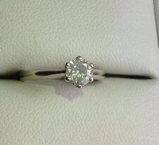 Beaverbrooks 9 Carat White Gold Fine Diamond Rings