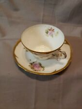 Tea Cup And Saucer Stamped