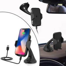 Qi Wireless Auto KFZ Handy Halterung Halter mit Induktive Ladefunktion Ladegerät