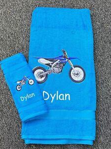 Dirtbike/motorbike towel set