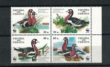Ukraine 323 - Ducks. Set Of 4  MNH OG. #02 UKRA323s4