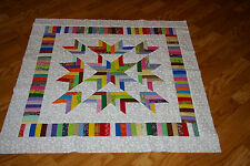 Scrappy Baby Quilt Top  - Lots of Color
