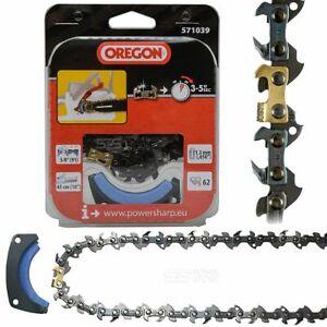 Oregon Powersharp Sägekette + Schleifstein Ersatzkette CS1500 Kettensäge 571039