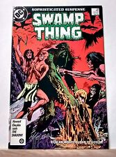 Swamp Thing #48 Signed by John Totleben! Constantine App. VF+ DC COMICS 1986
