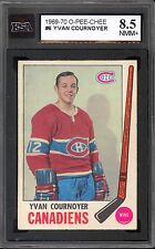 1969 70 OPC O PEE CHEE #6 YVAN COURNOYER KSA 8.5 NM-MINT + MONTREAL CANADIENS