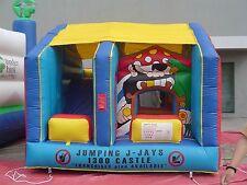 MASSIVE JUMPING CASTLE SALE - 4mx4m Pirate JumpnSlide Combo **Commercial ** NEW