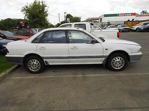 1994 Mitsubishi TS Magna Sedan RHR 1/4 Glass S/N# V6967 BJ2533