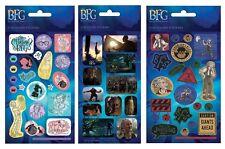 Paper Projects BFG SETx3 Disney Big Friendly Giant reusable Foil Craft Stickers