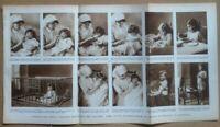 Tavola da Enciclopedia Il Medico in Casa - Puericultura - anni '50