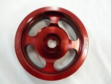 OBX Precision Underdrive Crank Pulley For 2002-2004 Volkswagen GTI VR6 RED