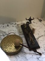 Antique Wall Mounted Gong