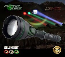 Opticfire XC-75 High power LED Deluxe hunting torch lamping lamp light kit T67