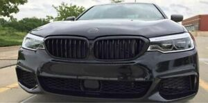 Black Gloss Performance Front Intake Grill Kidneys For BMW 5 series G30/G31