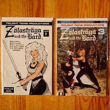ZOLASTRAYA & THE BARD # 1 3 (1987) Twilight Twins Productions