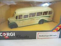 CORGI D949/13 /15 /17 /25 /27 BEDFORD TYPE OB COACHES die cast models 1:50th