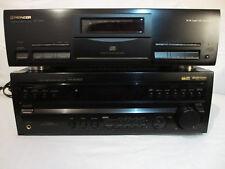 PIONEER pd-s705 CD-PLYR PIASTRE-PIATTO-unità + vsx-806rds 5.1 80 Watt destinatario