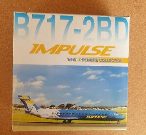 DRAGON WINGS IMPULSE AIRLINES B717-2BD 1/400 PREMIERE COLLECTION MODEL -MIB