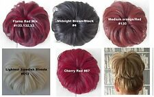 Superstar Big Hair Bun Synthetic Hairpiece Comb & Drawstring Pony Extension
