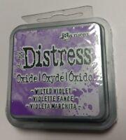Ranger Tim Holtz Distress Oxides Ink Pad- Wilted Violet TDO-56355 NEW
