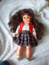 Alte,schöne ZAPF Puppe,48 cm groß m.Klapp/Schlafaugen,gemarktet