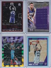 4X PANINI LOT 2015-16 WILLIE CAULEY-STEIN ROOKIE JERSEY /299 REPLAY /49 RC HOOPS