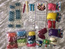 "2 Rainbow Loom Sets With Tons Of Extra Ruberbanda And ""S""clip ""C"" Clips"