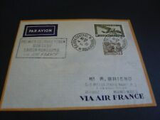 poste aérienne enveloppe 1er jour aviation first flight day indochine