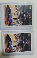 1991 - 1992 Upper Deck Patrick Ewing Chicago Bulls #P28 set of 2