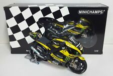 MINICHAMPS COLIN EDWARDS 1/12 MODELLINO YAMAHA M1 MONSTER TECH3 MOTOGP 2011 NEW