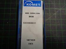 5 X KOMET Wendeschneidplatte SOEX 090408-01 W83 32000.1584 Bk84