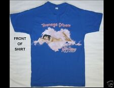 KATY PERRY Teenage Dream California Dreams Tour 2011 Size Small Blue T-Shirt