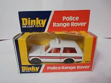 dinky 254 poilce range rover boxed vintage