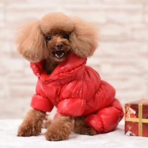 Dog Winter Clothes Coat Clothes For Small Dogs Cotton Padded Warm Outfit Jacket