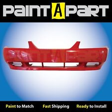 1999 2000 2001 Ford Mustang (Base) Front Bumper Painted ES Performance Red