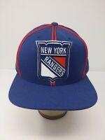 New York Rangers Mitchell & Ness Snapback Hat Cap One Size Adjustable