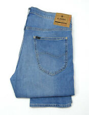 df408bbc Mens Lee Daren Caribbean Blue Slim Straight Stretch Jeans RRP£80 (Seconds)  L59