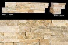 Amber Gold | Stone Ledger  | 6x24 Stack Stone
