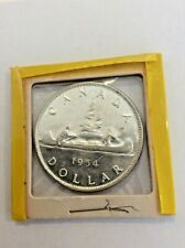 1954 Canadian Silver Dollar (No Reserve)